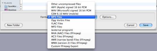 Audacity - Saving and Editing Music - DMC Guides - Rice
